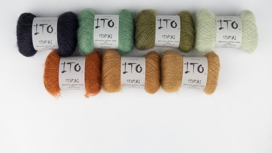 ITO Sensai - neue Farben 2020