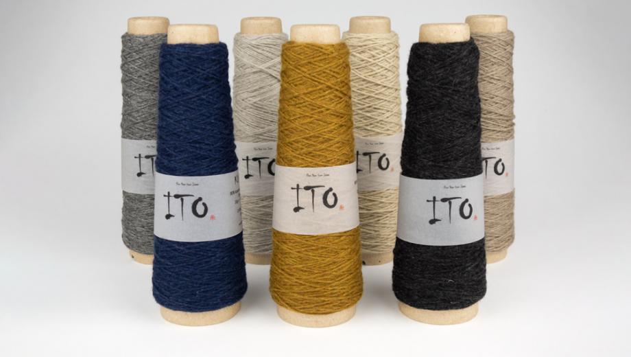 New yarn ITO Kuroten