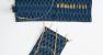 ITO Stofftaschen blau für 5cm ITO Nadelspitzen und ITO Rundstricknadeln