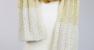 HIMEJI Gradation Pleats Shawl by EIJI TANUMA