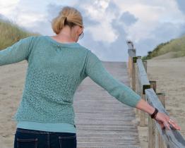 Mylys Shirt 3/4 von Katrin Schneider hinten