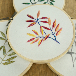 BAMBOO LEAF Embroidery