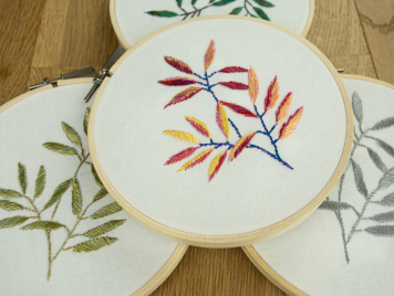ITO BAMBOO LEAF Embroidery Pattern