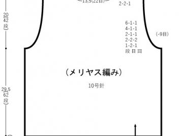 Japanese Knitting Pattern - Graph