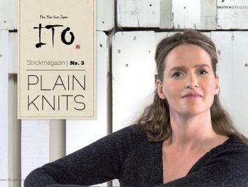 ITO Knitting Magazine No. 3 PLAIN KNITS