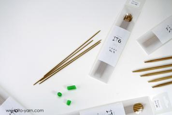 ITO Double Pointed Needles