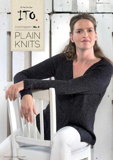 ITO Strickmagazin Nr. 3 PLAIN KNITS Title