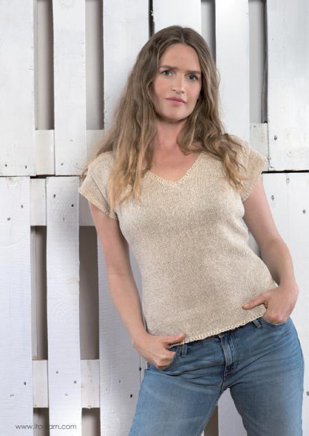 ITO Strickmagazin Nr. 3 PLAIN KNITS 01 T-Shirt