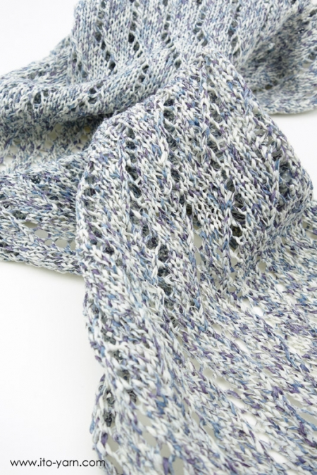BIWAKO Triangular Shawl