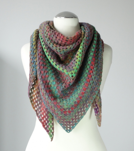 UBE Triangular Shawl