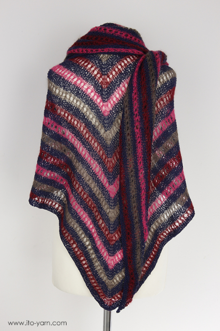GIFU Triangular Shawl - L