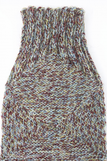 MOKUSEI Sock by Claudia Eisenkolb