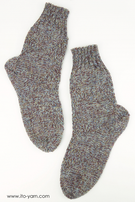 MOKUSEI Sock by Claudia Eisenkolb