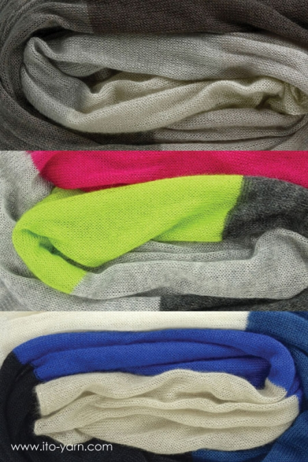 OSAKA Scarf color combinations