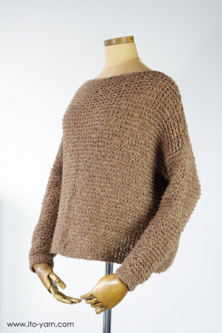 KASUMI Pullover in #33 Brown