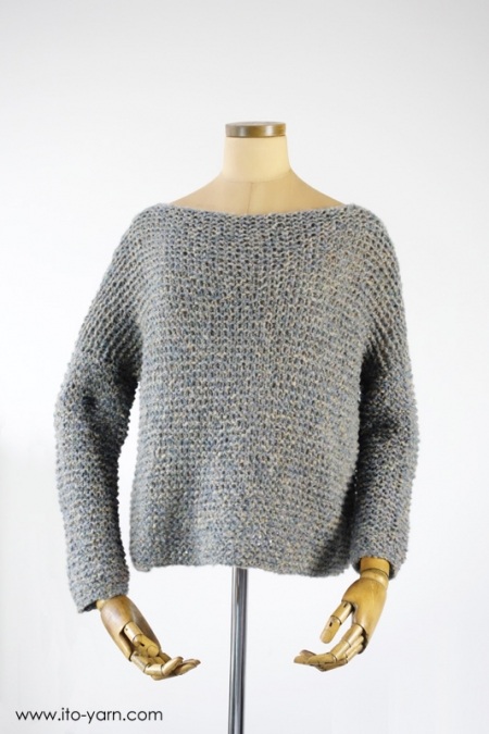 KASUMI Pullover in #51 Blue