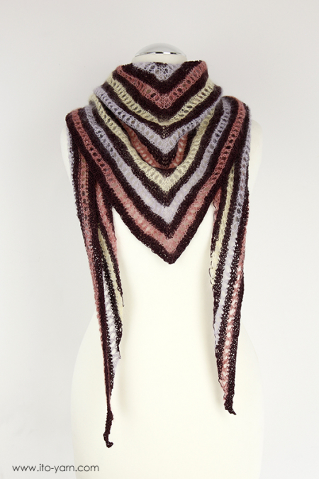 GIFU Triangular Shawl - M