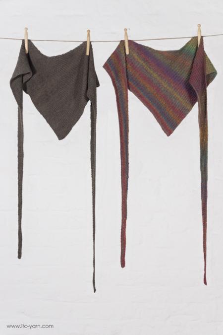 MITO Triangular Shawl