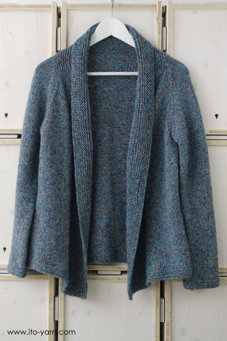 MURA Strickjacke in Konpeito #51 blue