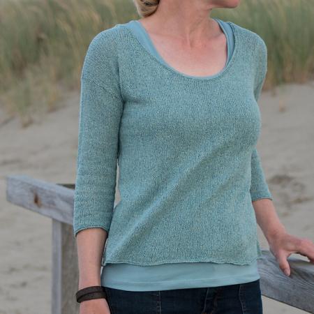Mylys Shirt 3/4 by Katrin Schneider front