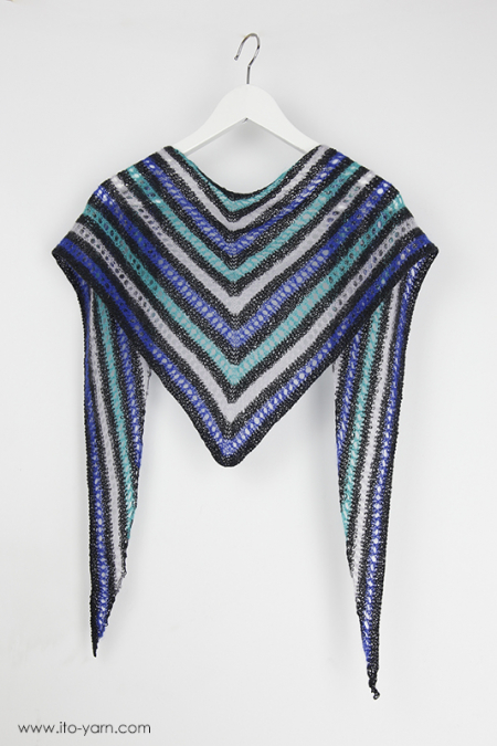 GIFU Triangular Shawl - S