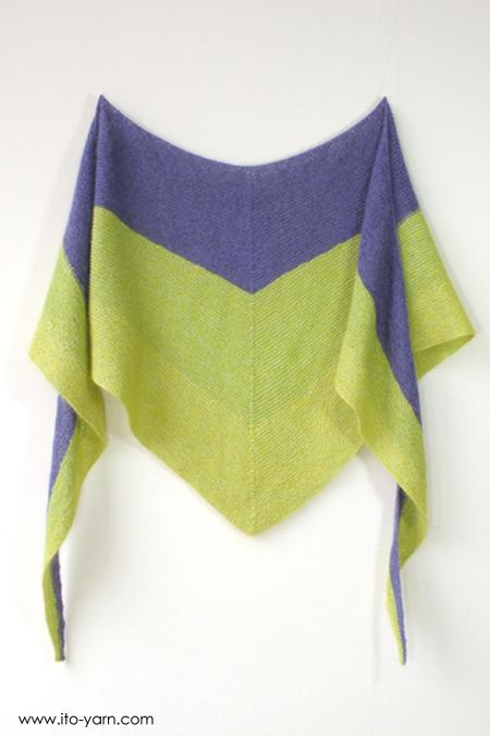 TENDO Triangular Shawl