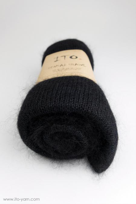 #323 Black-Sensai Schal