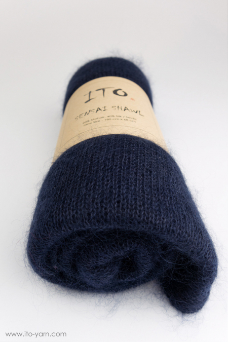 #341 Orient Blue-Sensai Schal