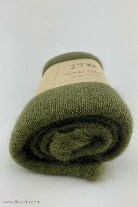 #698 Olive-Sensai Schal