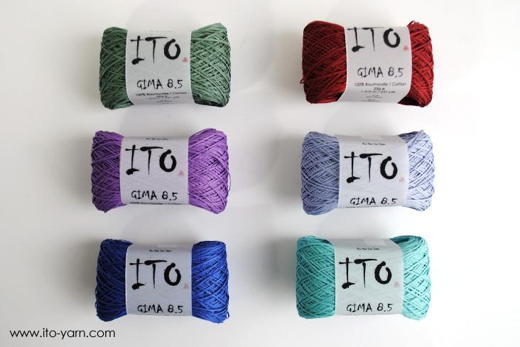 ITO Gima 8.5 neue Farben 2016