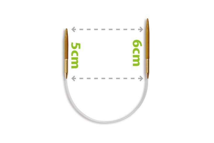 ITO Asymmetric Circular Needles